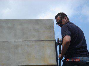 Steinreinigung Berlin sandstein schleifen